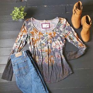 Anthropologie Floral Shirt